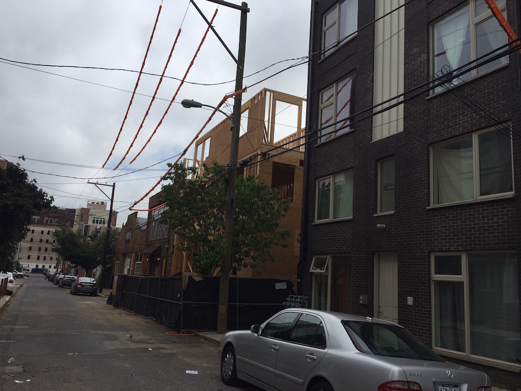 Property goes all the way back to Ogden Street