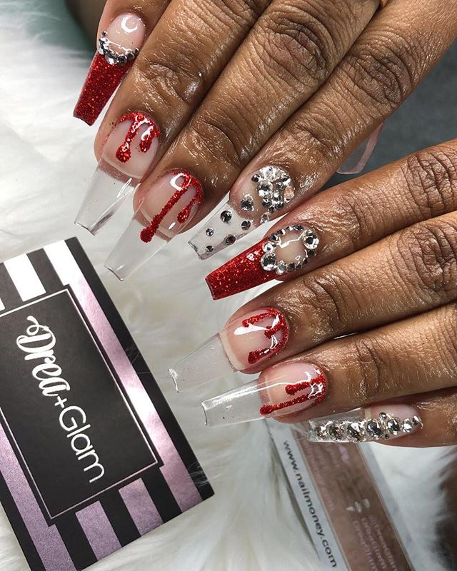 Even if nobody hears them, trees are still falling in the Forrest.  #100ManicureSZN  #DreaGlam  NailMoney.com 🙏🏾 . . . . .  #nails #nailart #notw  #tuscaloosa #glamnails #ovo  #DreaNails #nailtutorial #nailshop #nailsofinstagram #espn #stilettonails  #vegasnay #atlnails  #bookme #nailsmagazine #naildit #hudabeauty #atl #Alabamanailtech #rolltide #tuscaloosanails #youngnails #mynails #nailsnob