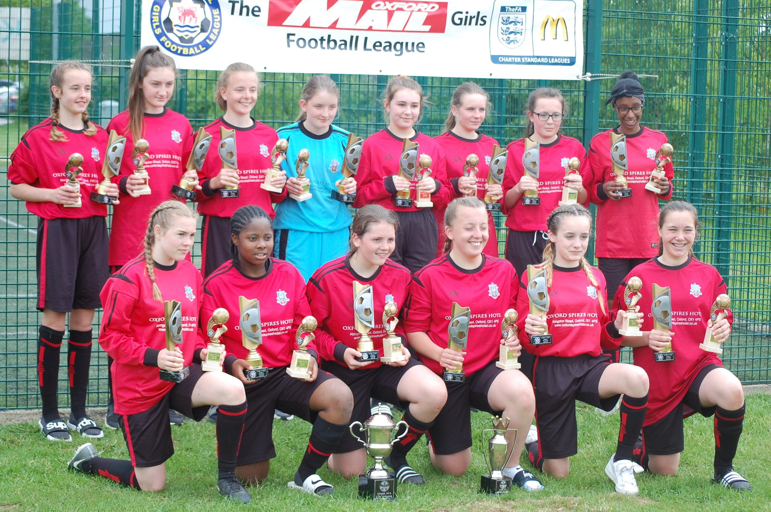 U14 Girls trophies.JPG