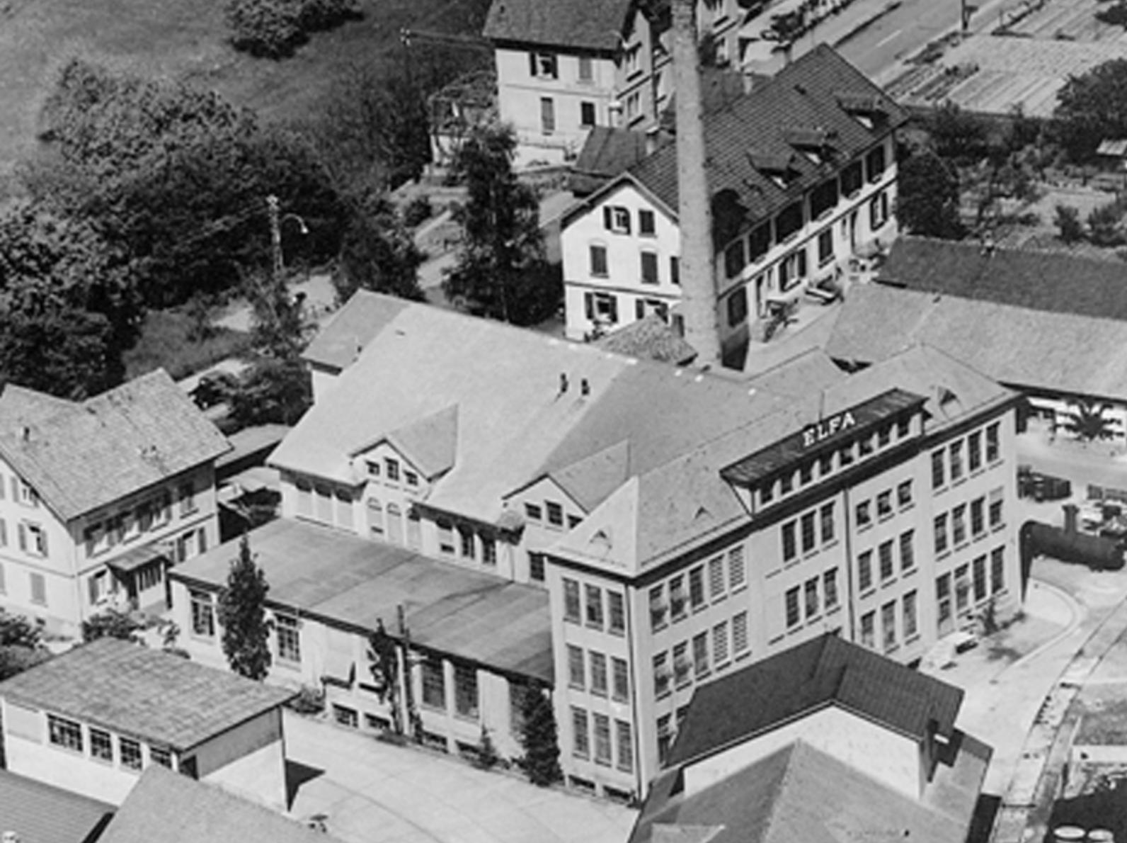 Die alte ELFA-Halle