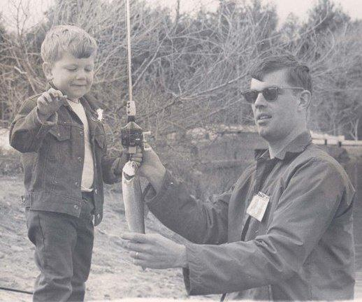 My Dad and I sometime around 1970-72 I'm guessing