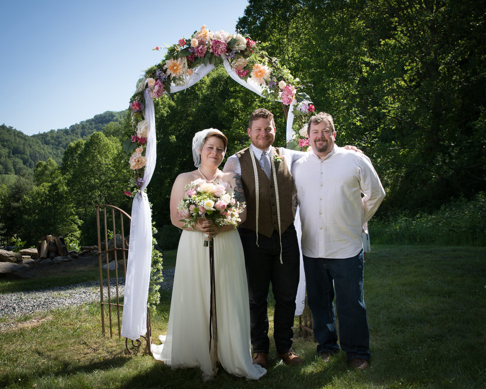 My first Officiant experience....unforgetable!