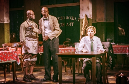 """Master Harold""... and the Boys  with Leon Addison Brown, Sahr Ngaujah, & Noah Robbins"