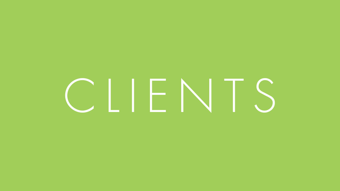 - Current and past clients