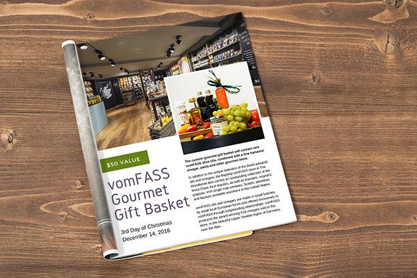 Urban Swank - vomFASS Gourmet Gift Basket