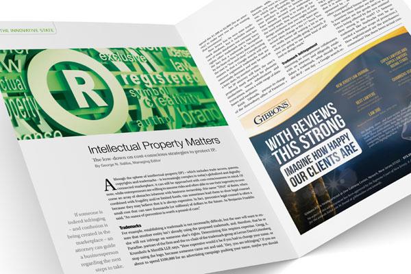 New Jersey Business - Intellectual Property Matters