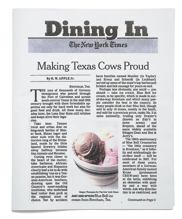 The New York Times - Dining In