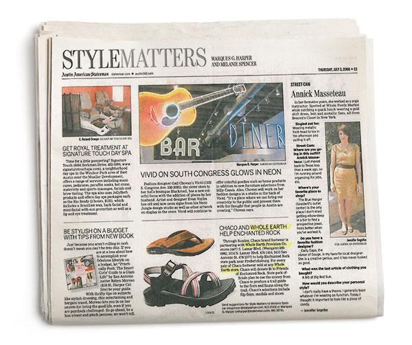 Austin American-Statesman - Style Matters