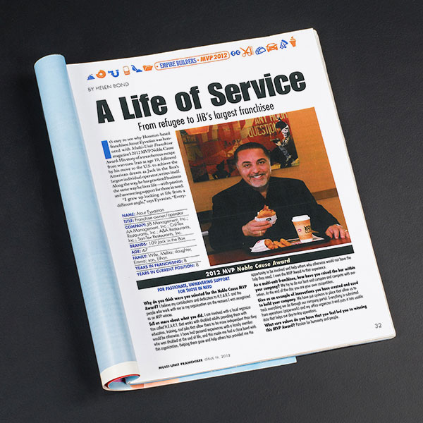 Multi-Unit Franchisee - A Life of Service