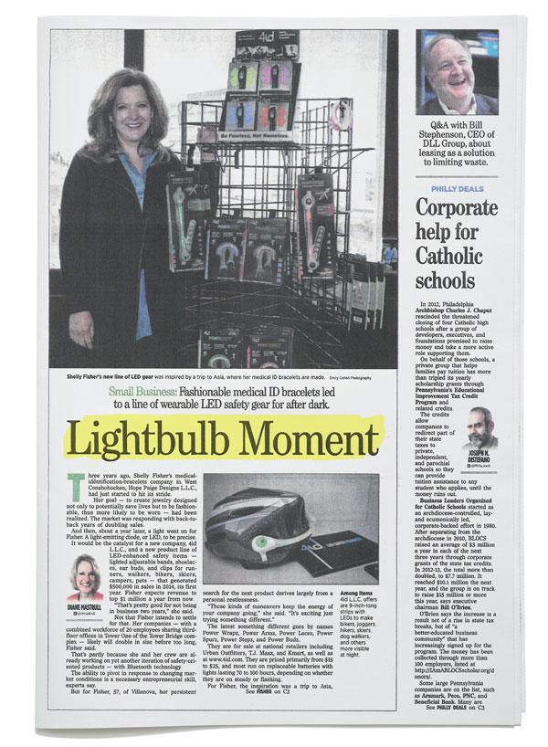 The Philadelphia Inquirer - Lightbulb Moment