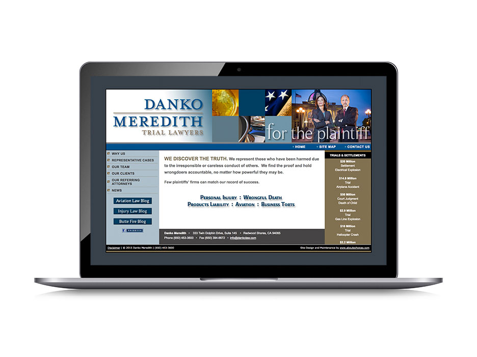 Bernstein-Associates-Danko-Law-Firm-Website