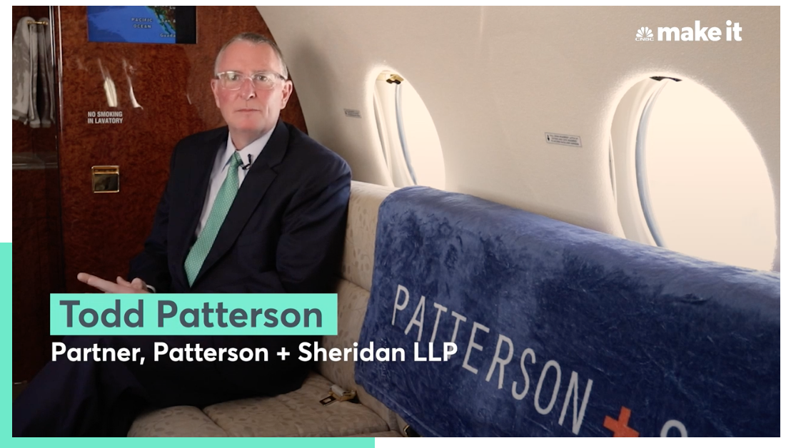 CNBC Features Innovative Law Firm - Todd Patterson discusses value for clients and firm.Video and story.