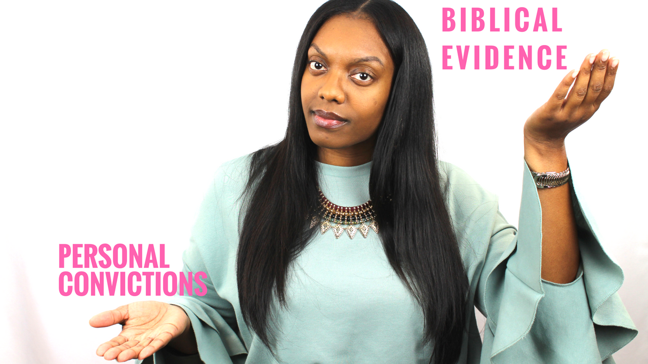 Hey hey! Have you ever felt persecuted or judged by your own family in the body of Christ because you do not hold the same personal convictions as they do? Have you ever been judgmental towards others due to your own personal convictions? Check out my new video that explores this topic of personal convictions vs what the bible actually says.