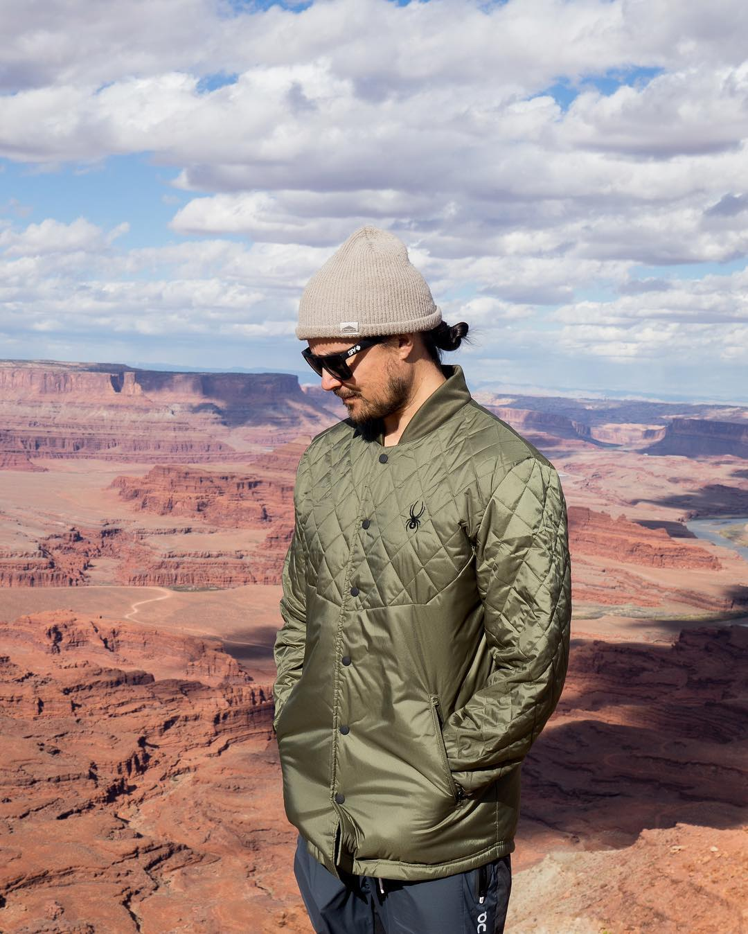 7. Julian Carr - Pro skier, founder of Discrete Clothing and Cirque Series, activist, and world record holder.