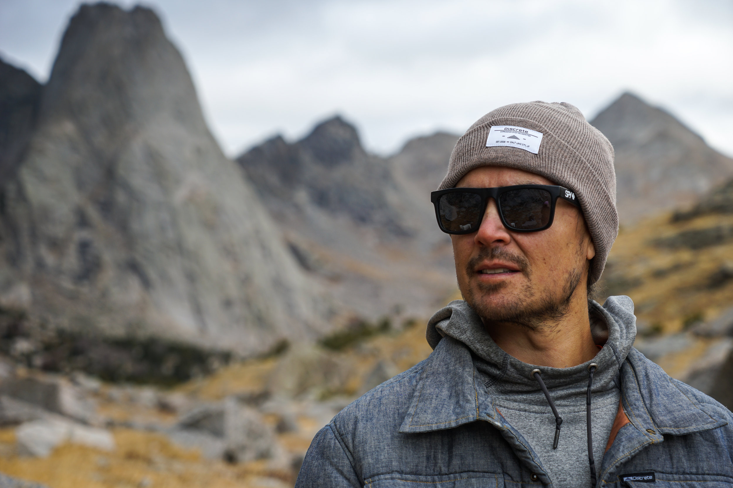 Julian Carr - Pro skier, Founder of Discrete Clothing and Cirque Series, activist, and world record holder.