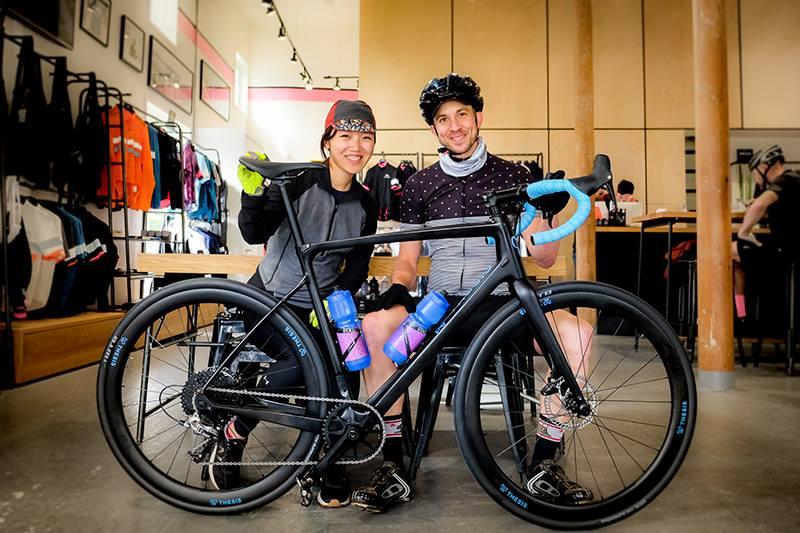 Randall Jacobs and Alice Liu - Founders of innovative bike company Thesis.