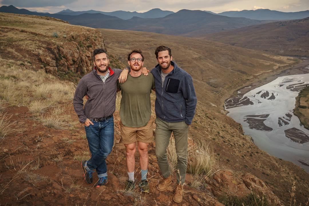 Chris Parkes, Travis Bluemling, Ross Jennings - Content creators, entrepreneurs, world travelers.