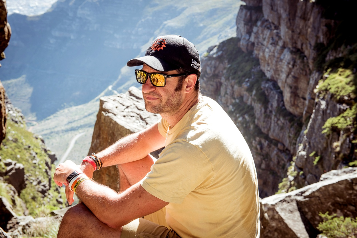21. Andrew Patterson - Founder of 365Ubuntuclimbs.