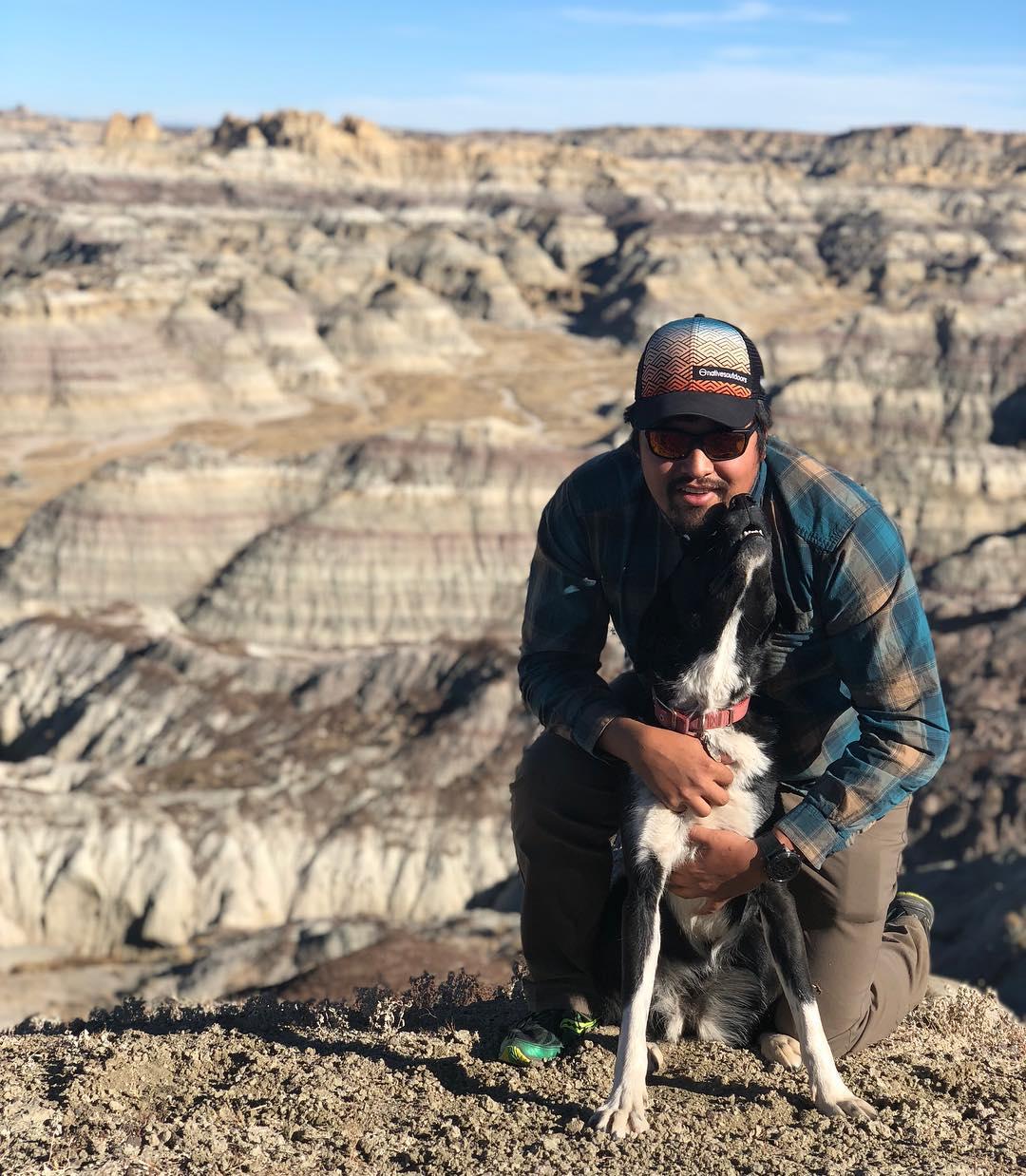 Len Necefer - CEO Natives Outdoors, Professor, Activist, Filmmaker, and board member Honnold Foundation and American Alpine Club.