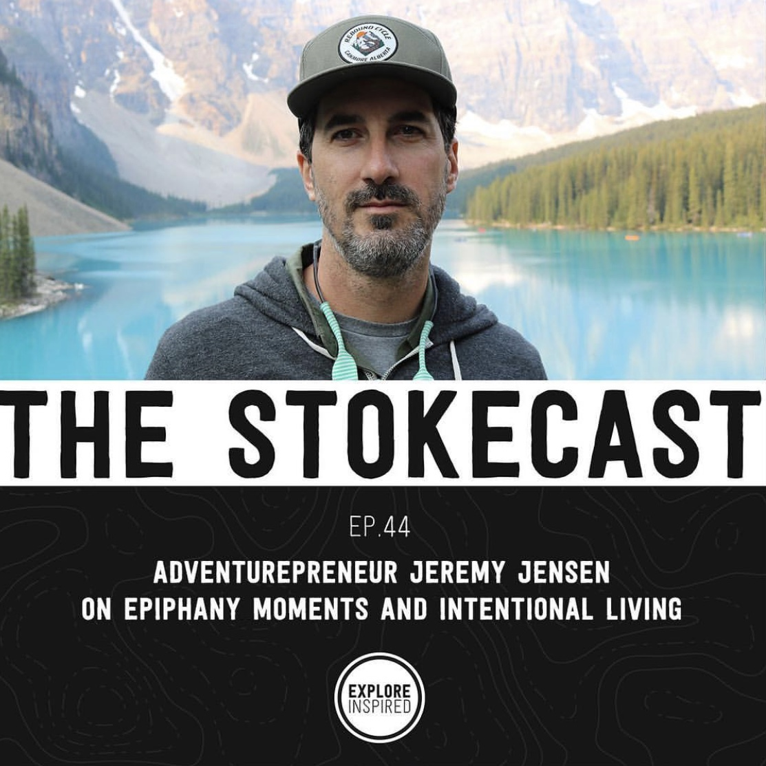 Guest on the Stokecast Podcast - Boston, MA - Had a great chat with Jonathan Ronzio and Emily Holland about all things adventure and flow. We may have even digressed to some #pooptalk too, but don't say I didn't warn you.READ MORE