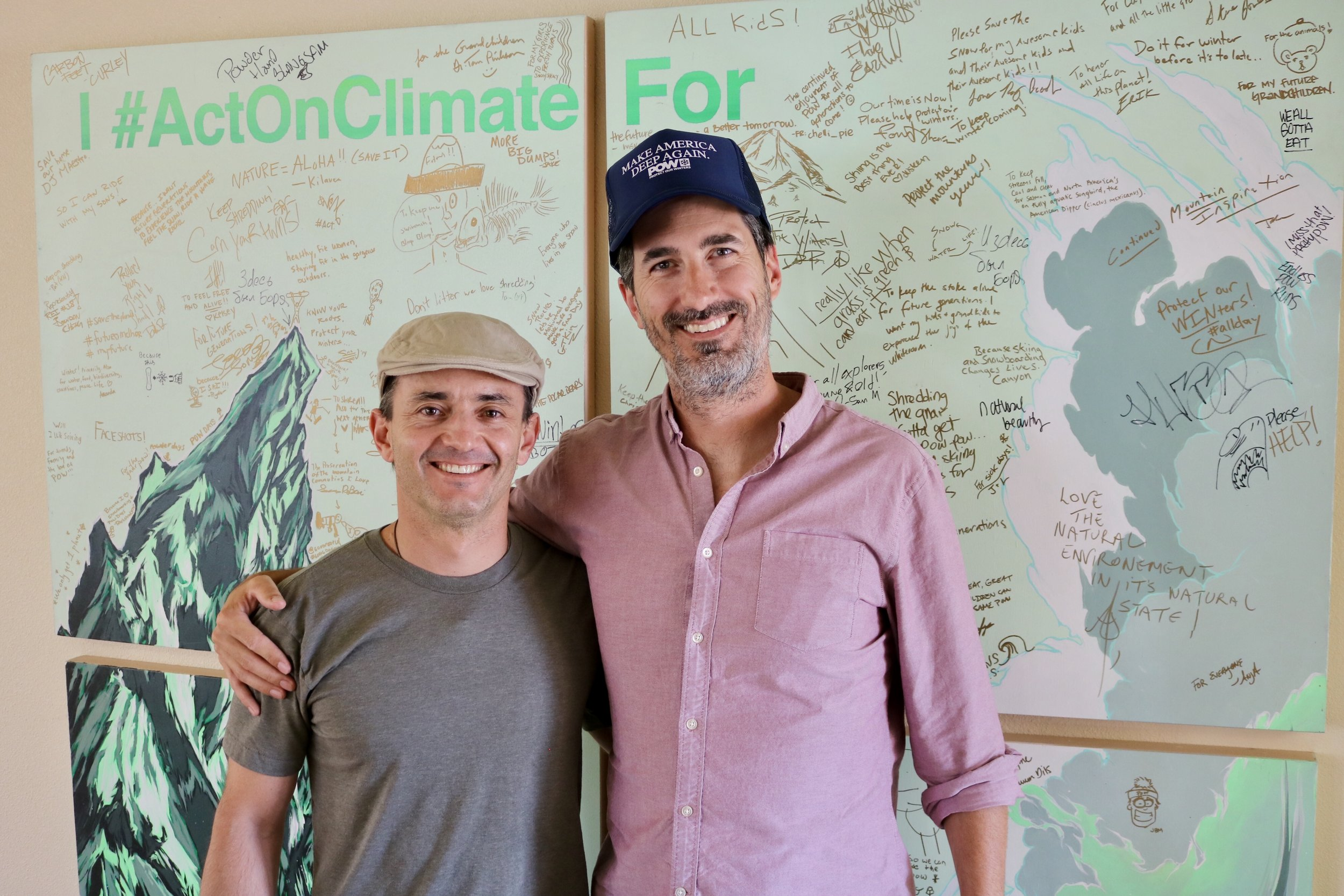 Mario Molina - Executive Director of Protect Our Winters, a climate advocacy non-profit making a huge impact.