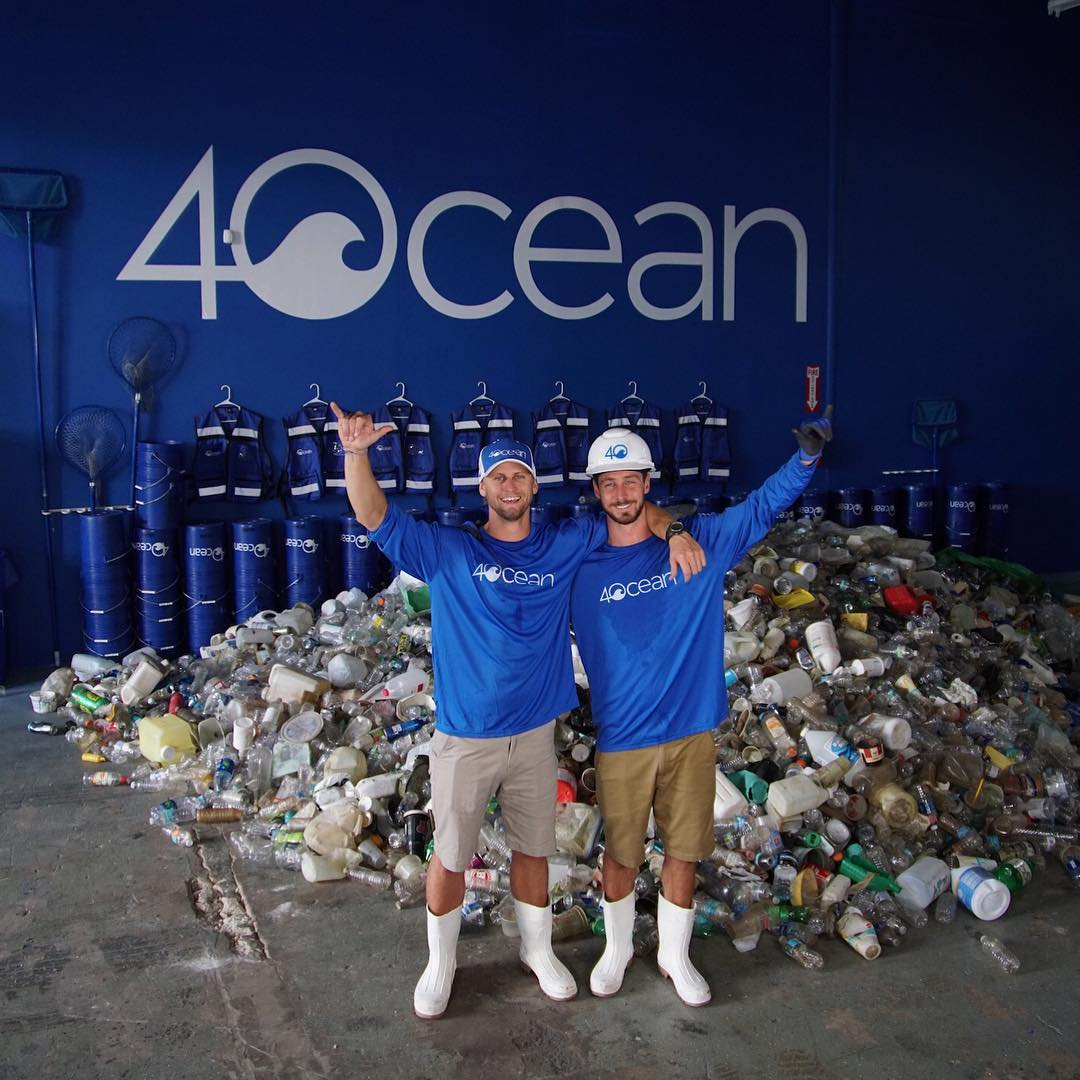Alex Schulze and Andrew Cooper - Founders of 4Ocean, an environmental non-profit dedicated to ending the ocean plastic crisis.