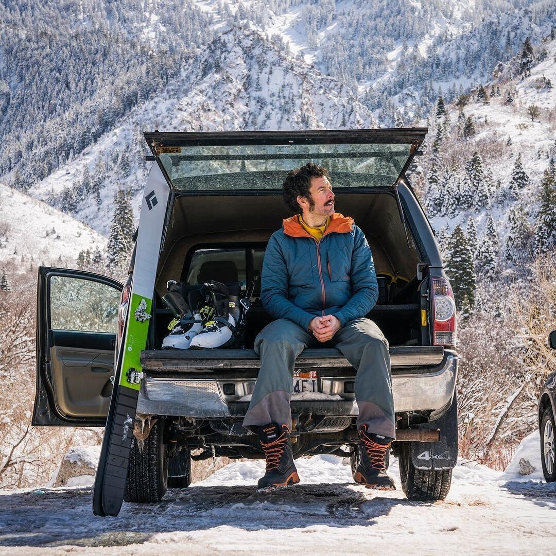 Noah Howell - Pro ski mountaineer, co-founder Powderwhore Productions