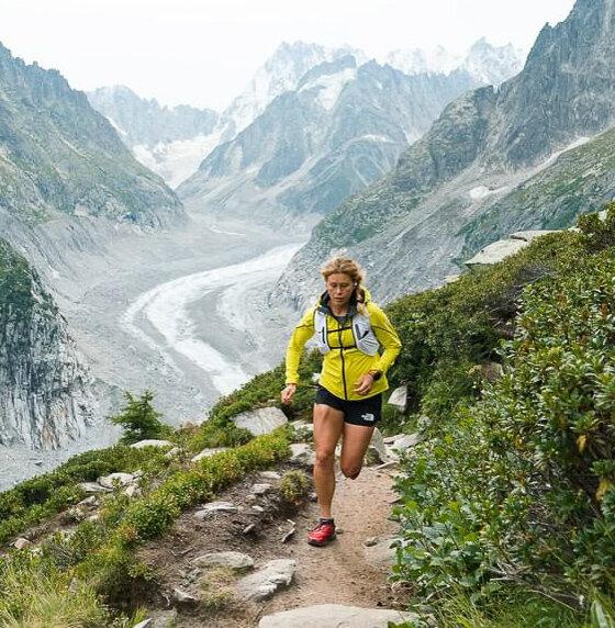 Hillary Allen - Pro mountain endurance runner.