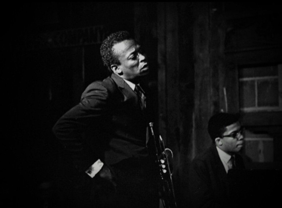 Miles & Herbie on stage together.