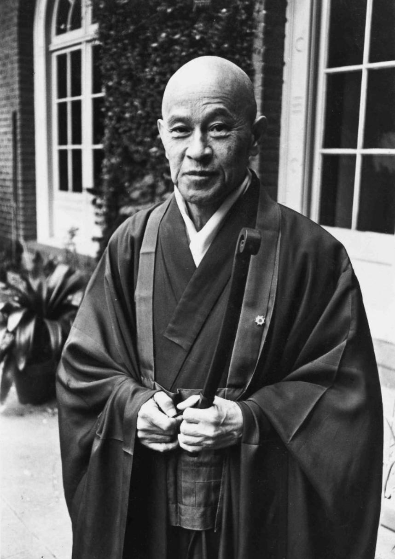 Zen master Shunryu Suzuki
