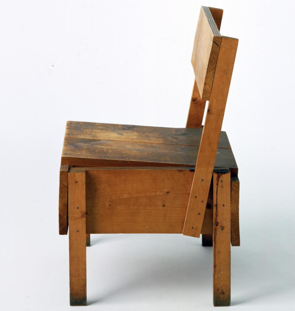 Autoprogettazione chair, 1974
