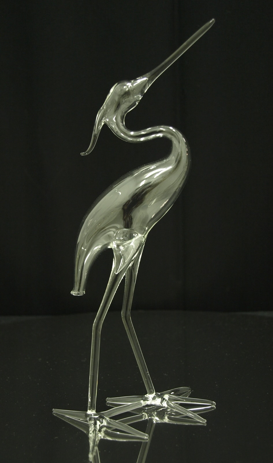 Art production, crystal glass.