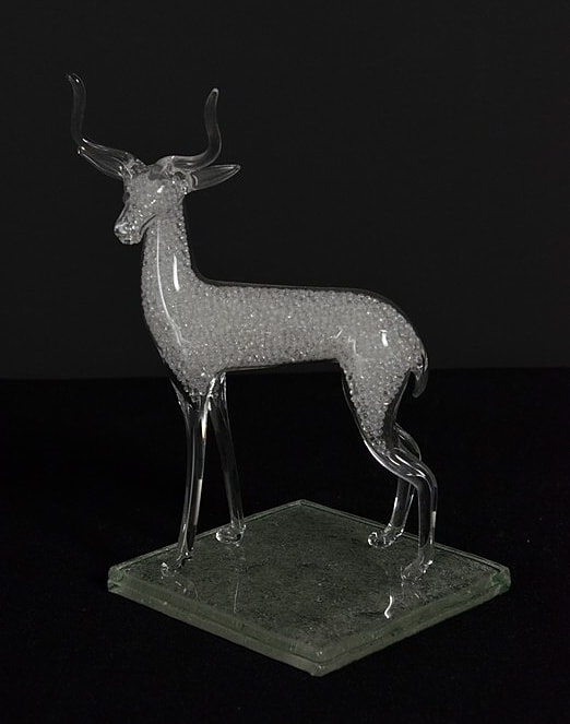 Glass figurine - chamois