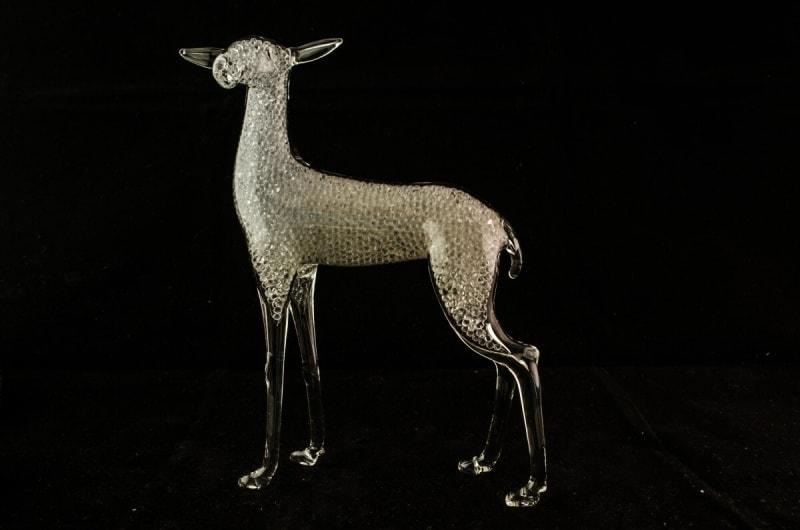 Glass figurine - doe