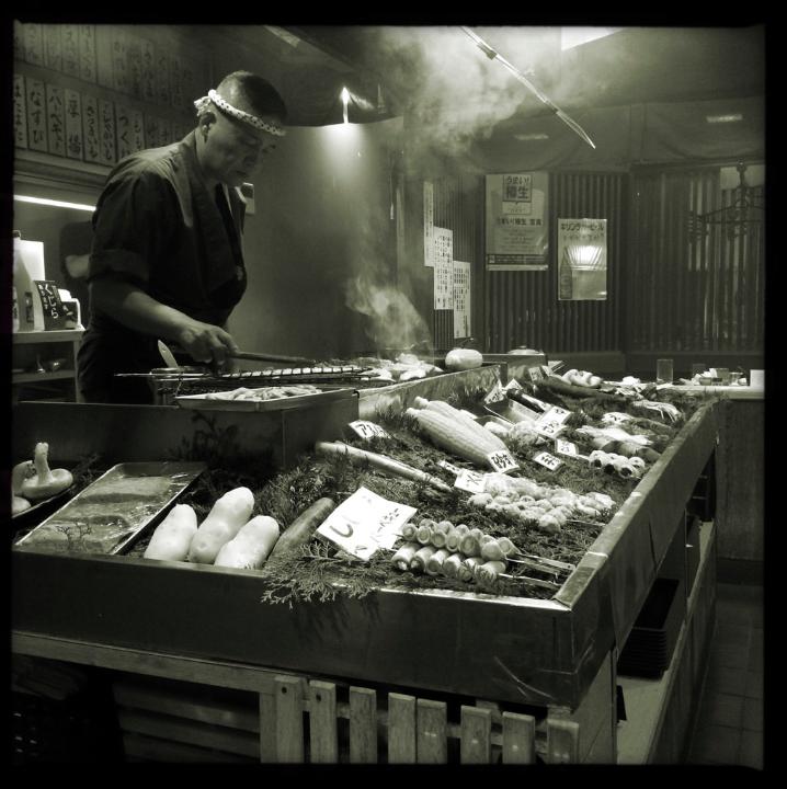 Fantastic robatayaki restaurant in Kobe. Yum!