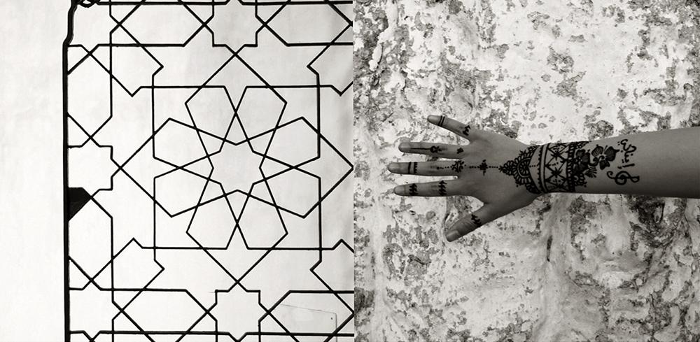 Alcazar, Sevilla & Henna, Morocco