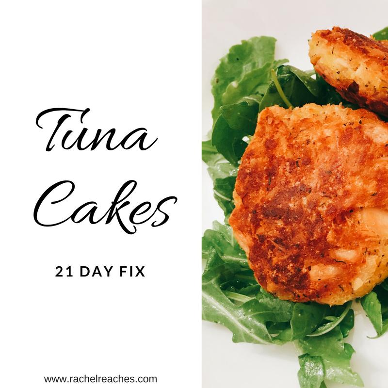 Tuna Cakes 21 Day Fix