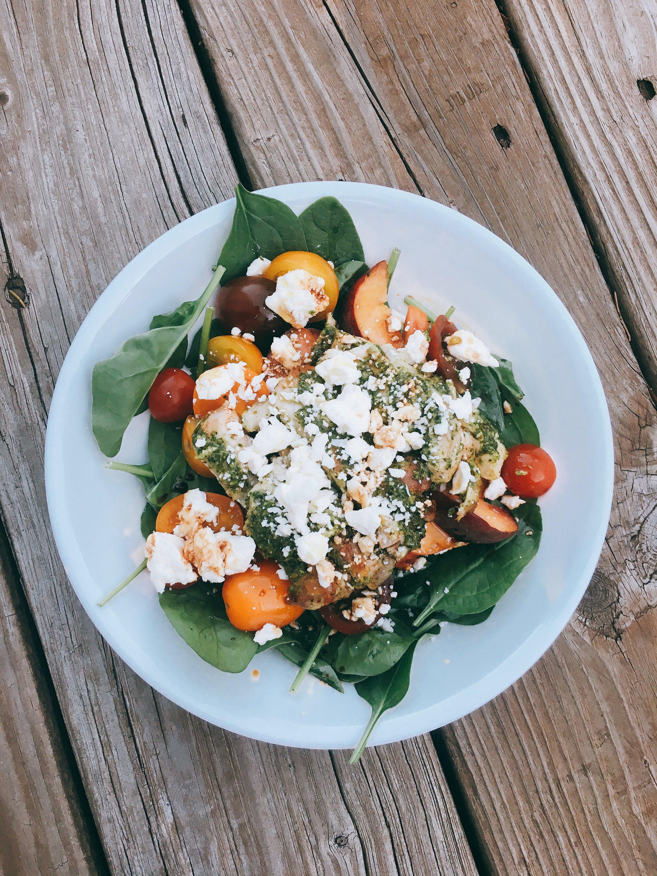 Pesto Chicken & Peach Salad.jpg