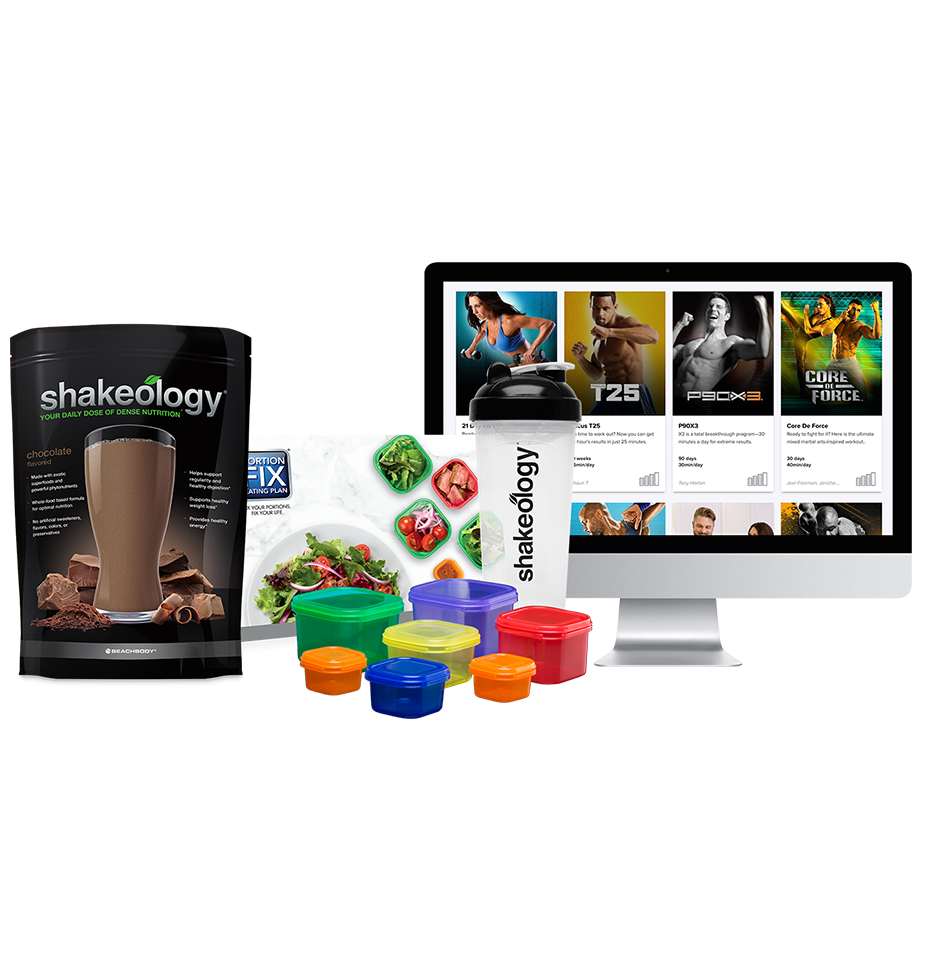 Beachbody® On Demand & Shakeology® Challenge Pack