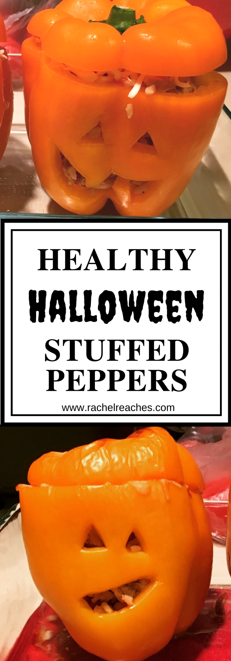 Halloween Stuffed Peppers Pin - Healthy Eating.png