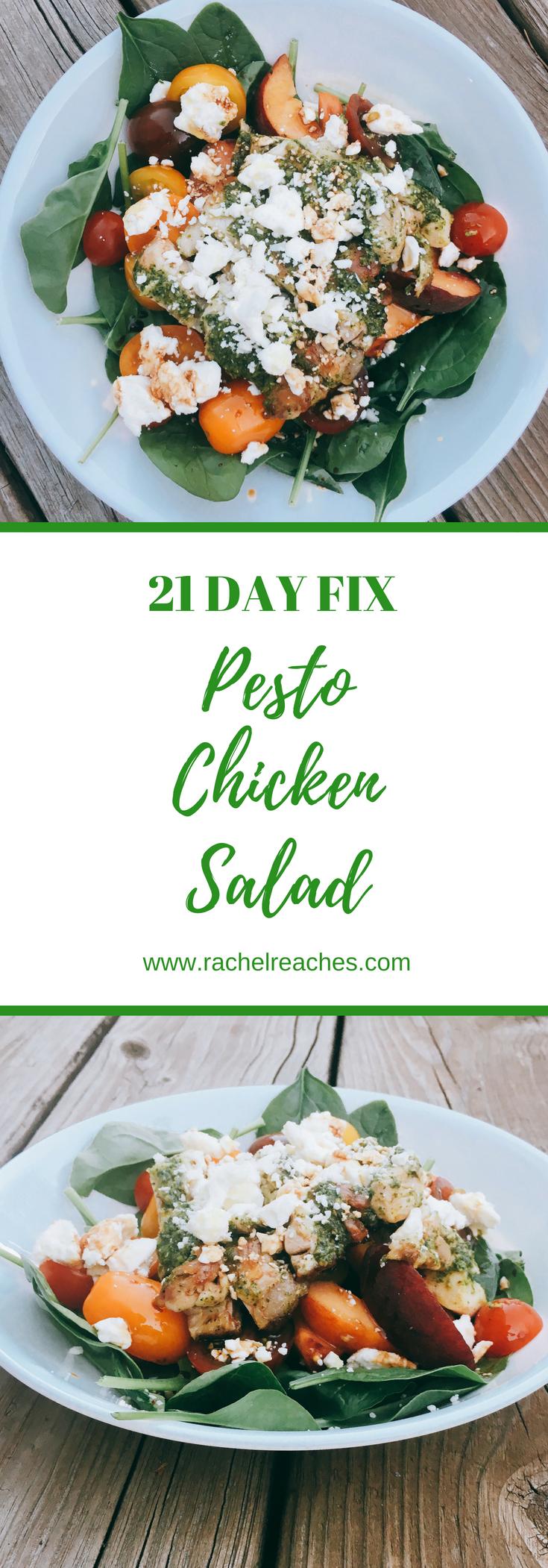 Pesto Chicken Pinterest Pin - 21 Day Fix.png