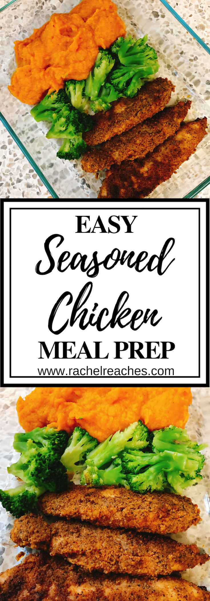 Seasoned Chicken Meal Prep Pin - Healthy Eating.png
