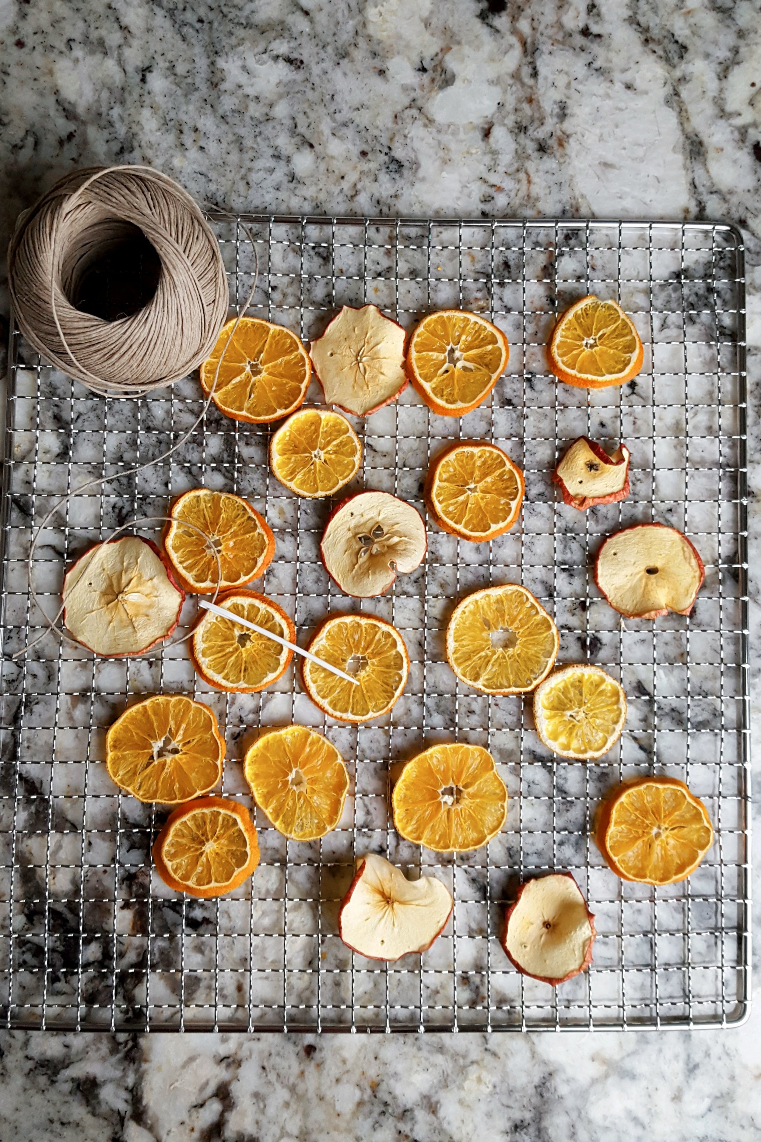 Dried Fruit Ornaments