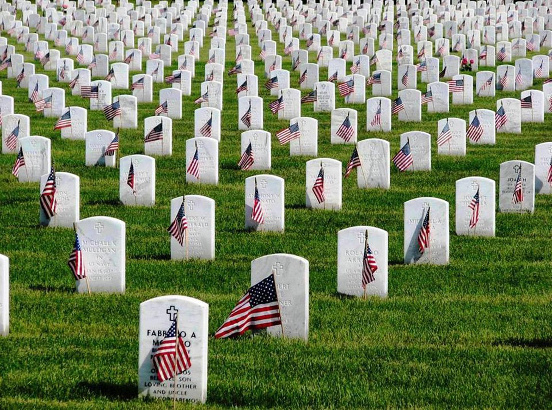 Image taken by NASA VA National Cemetery