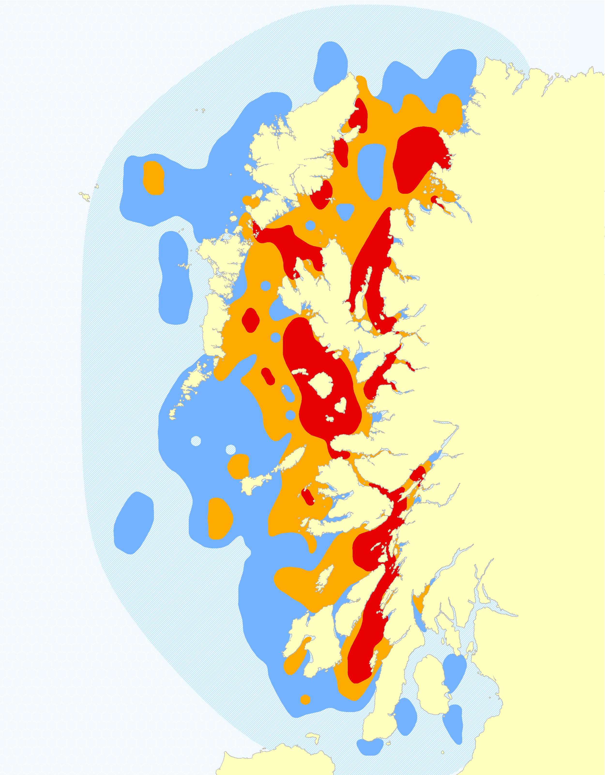 Harbour Porpoise Hotspot Map