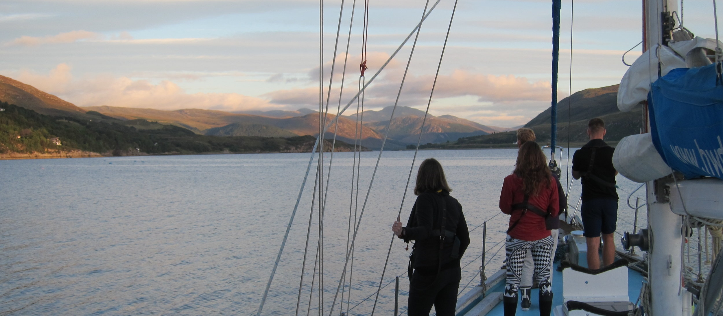 Rendezvous in Ullapool allows for the exploration of some of the more northern reaches of our study area