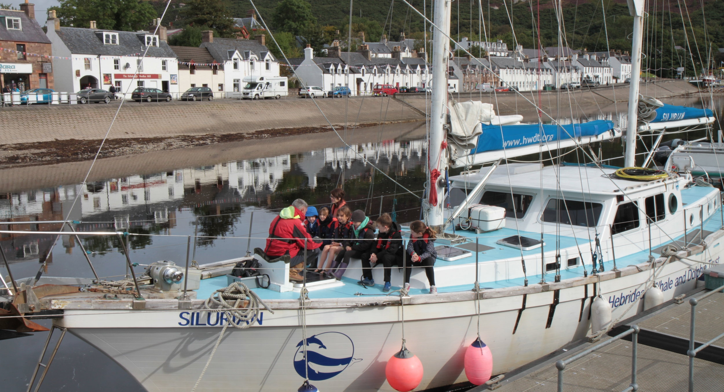 Silurian  still welcomes kids aboard to learn about their local marine environment
