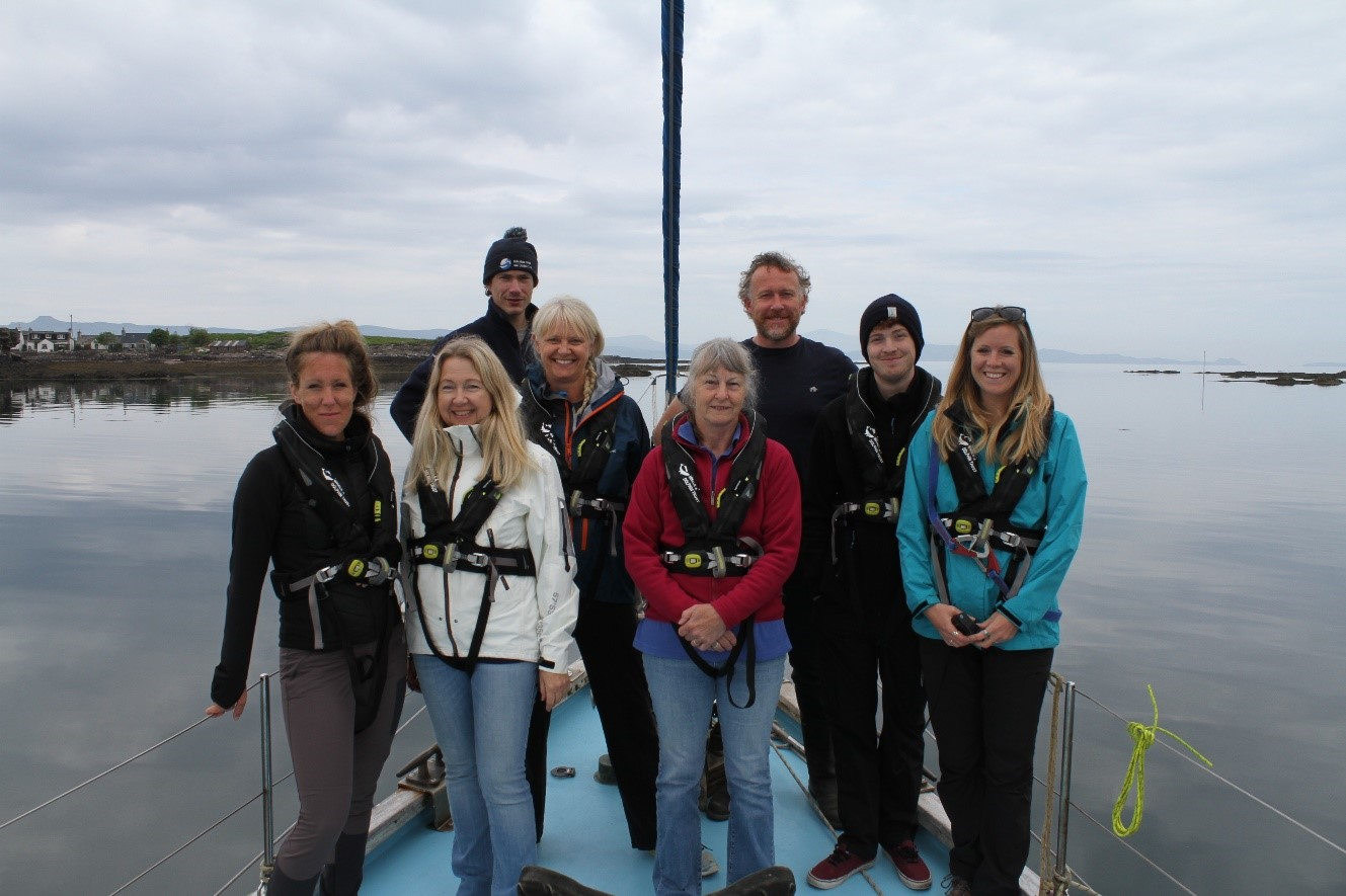 The amazing citizen science team that joined us on board for HWDT 4.
