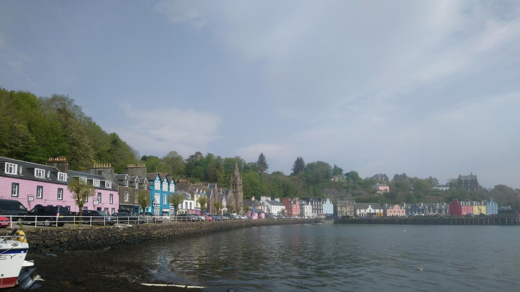 Tobermory Main Street, home to our Discovery Centre (and offices)