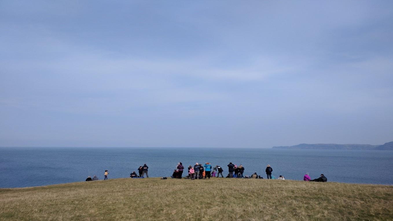 Keeping a keen eye on the seas off Glengorm